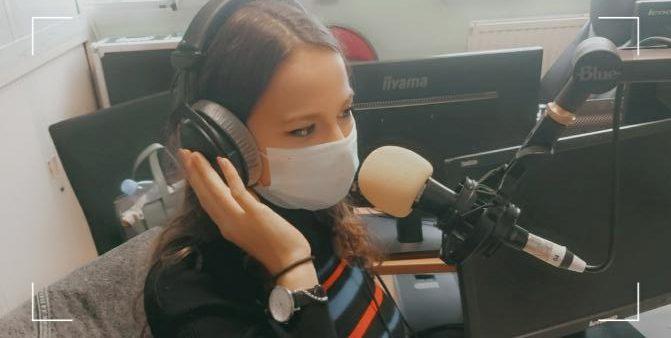Karina au studio